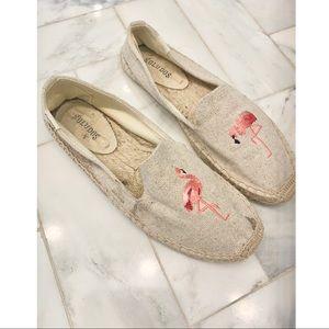 Soludos flamingo shoes